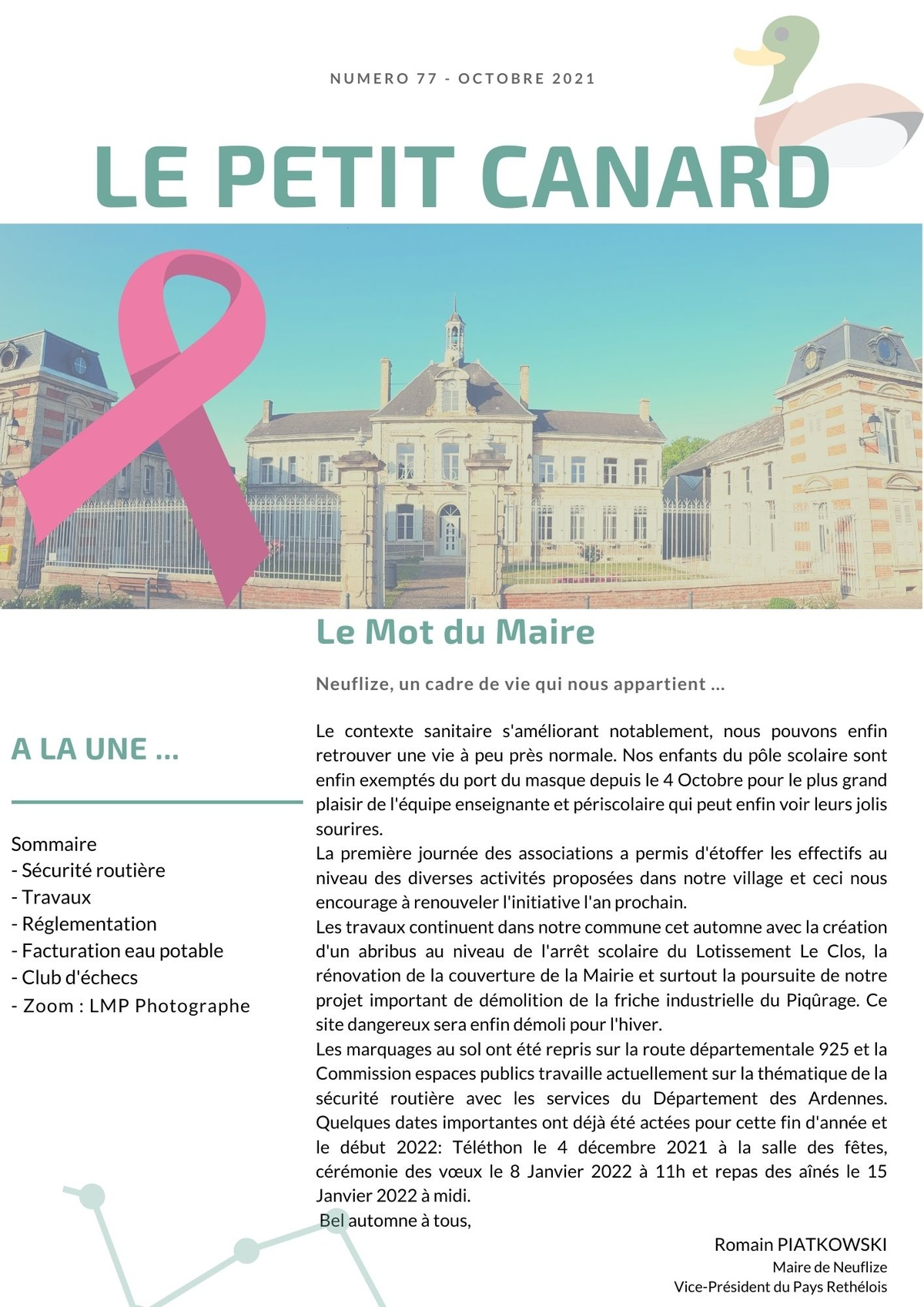 Petit Canard 77