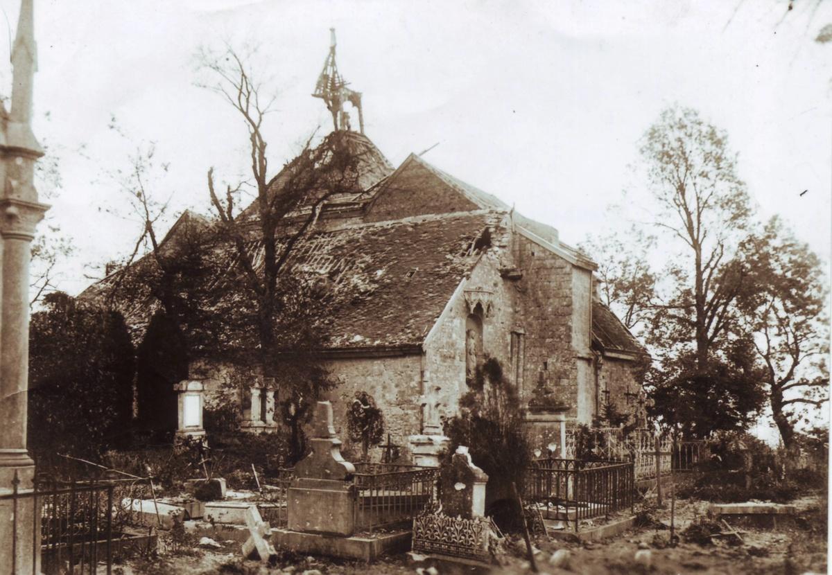 Chapelle Saint Lié en 1919